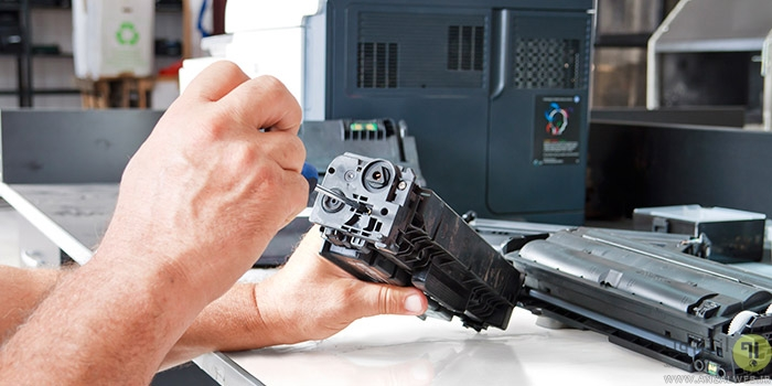 آموزش تصویری شارژ کارتریج پرینتر Canon ، HP ، Samsung و.. در خانه