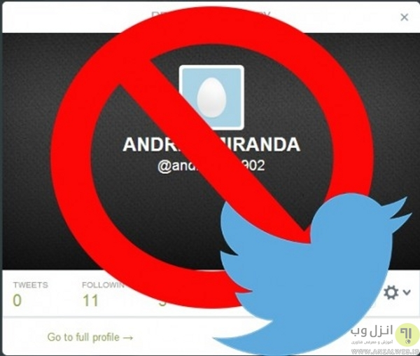 مسدود کردن یا Blocking در توییتر چه کاری انجام می دهد؟