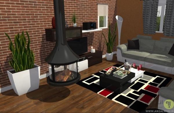 طراحی دکوراسیون با HomeByMe