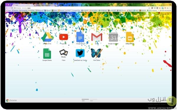 تم Colors برای کاربران کروم
