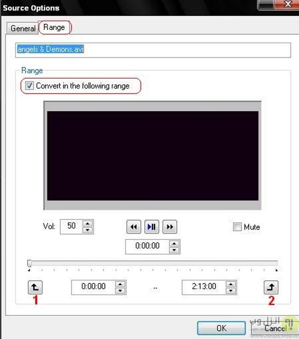 بریدن تکه ای از فیلم در نرم افزار JetAudio