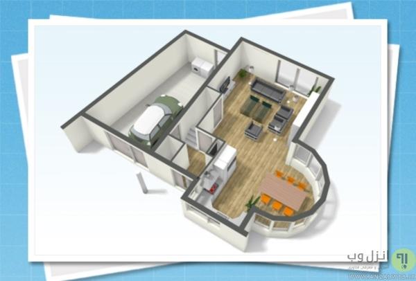 Floor Planner برای طراحی دکوراسیون