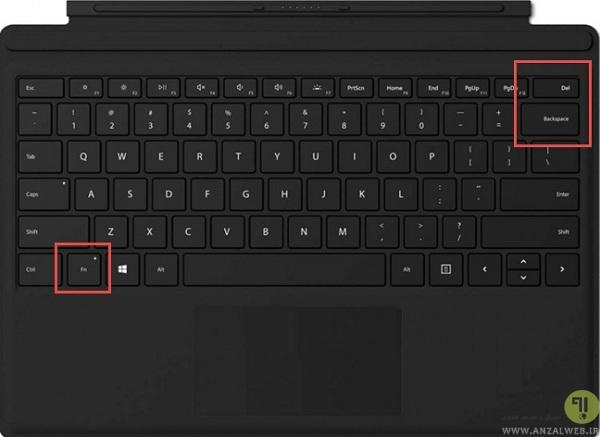 حل مشکل روشنایی در ویندوز 10 از طریق کلیدهای میانبر کیبورد