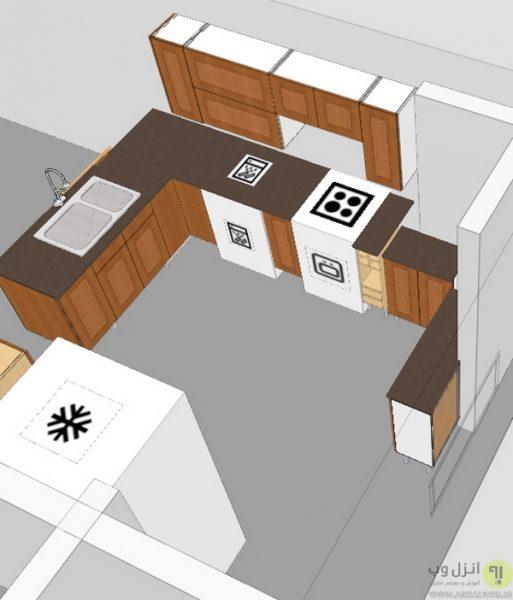 طراحی دکوراسیون آشپرخانه Ikea Kitchen Planner