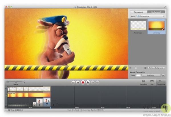 ابزار انیمیشن iStopMotion 3 آیفون