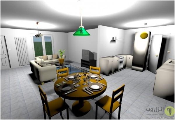Sweet Home 3D برای طراحی سه بعدی دکوراسیون