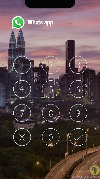 قفل گذاشتن روی واتساپ Messenger Lock