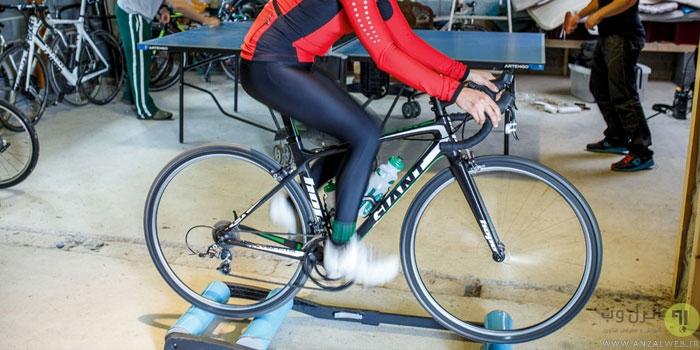 ساخت دوچرخه ثابت در خانه