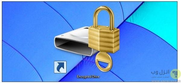 آموزش رمز گذاری روی درایو ویندوز 10 ، 8 و 7