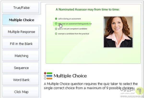 سرویس Wondershare QuizCreator برای ساخت آزمون آنلاین