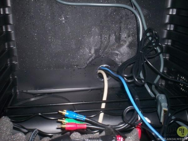 آماده کردن وسیله مناسب خنک کننده کنسول