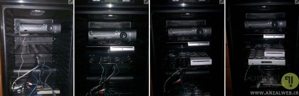 مونتاژ دستگاه خنک کننده