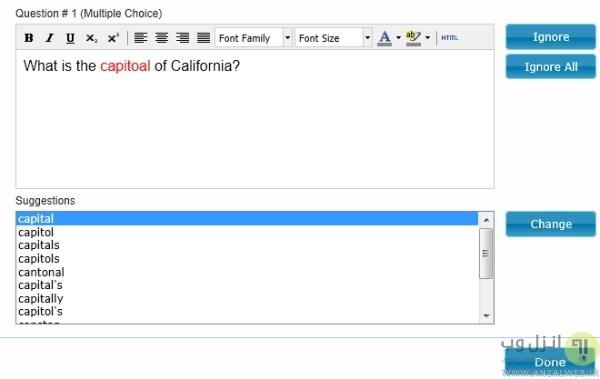 ساخت پرسشنامه آنلاین Easy Test Maker