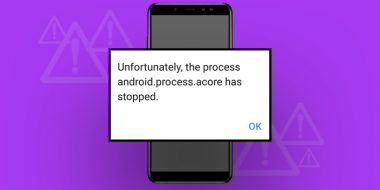 ارور Android.Process.Acore Has Stopped Unexpectedly اندروید