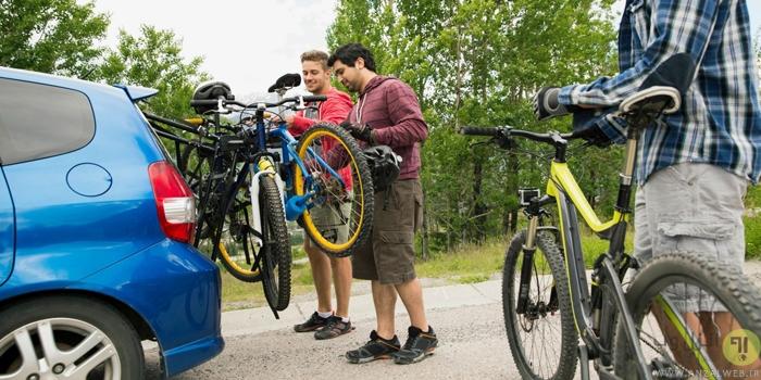 آموزش گام به گام بستن و نصب دوچرخه بند روی ماشین