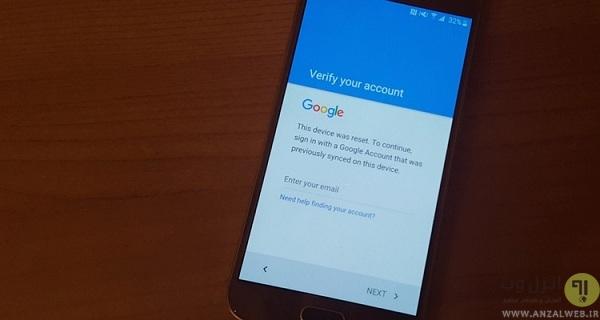 مشکل اکانت گوگل در اندروید چیست؟