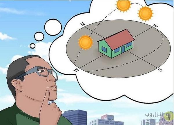 انواع جهت یابی از روی خورشید