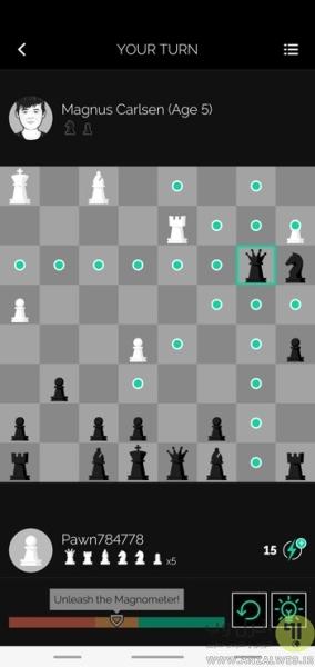 بازی شطرنج برای گوشی اندروید Play Magnus