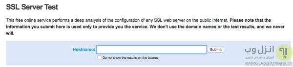 بررسی سایت از نظر امنیت با Qualys SSL Labs