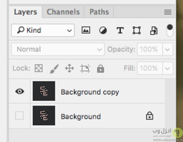 تبدیل فرمت jpg به png در فتوشاپ