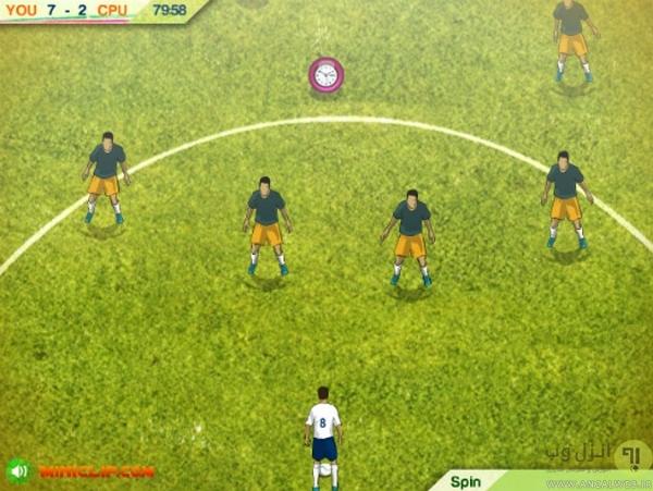 بازی آنلاین فوتبال Soccer Pro
