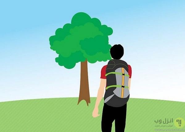 آموزش جهت یابی در طبیعت