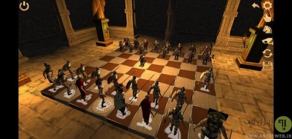 بازی Battle Chess 3D برای اندروید