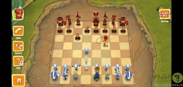 شطرنج اندروید Toon Clash Chess