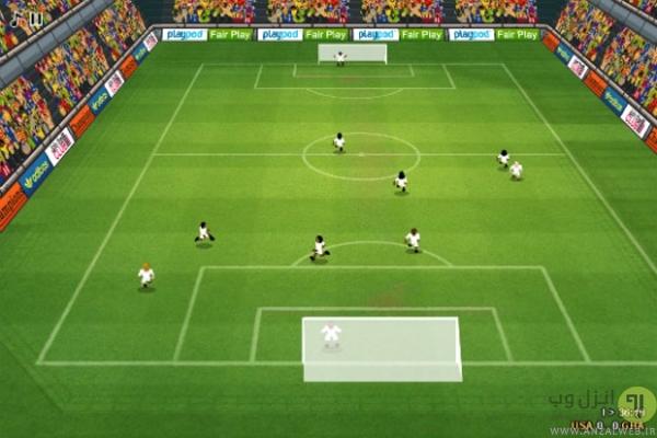 بازی فوتبال آنلاین The Champions 4