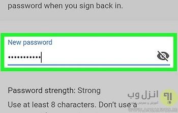 تغییر رمز جیمیل فراموش شده با استفاده از برنامه جیمیل اندروید