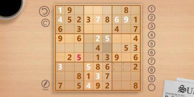 بازی حل جدول سودوکو آنلاین