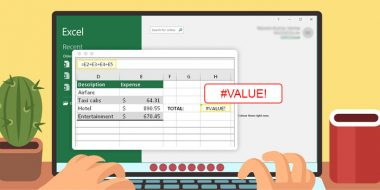 رفع مشکل VALUE و نوشتن فرمول در اکسل