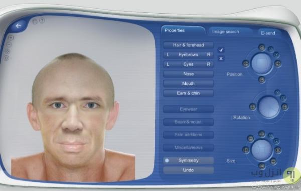چهره نگاری آنلاین در Morphases