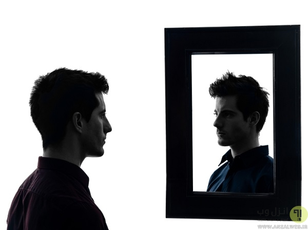 مقایسه آینه و چهره
