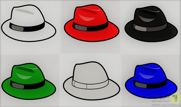 هکر کلاه سفید ، سیاه ، قرمز ، سبز ، خاکستری و.. چیست؟