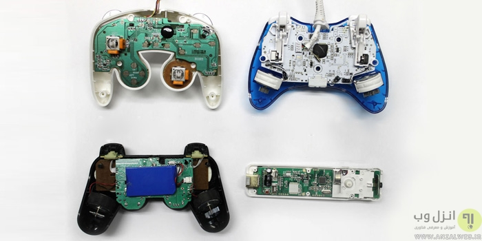 آموزش تعمیر دسته بازی کامپیوتر ، Xbox ، PlayStation و ..