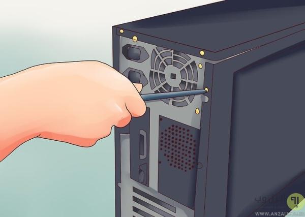 باز کردن کارت گرافیک از روی کامپیوتر