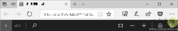 باز کردن پی دی اف در Microsoft Edge