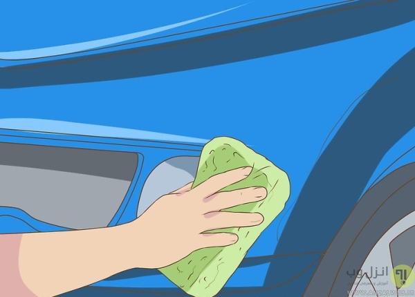روش شستن صحیح بیرون ماشین