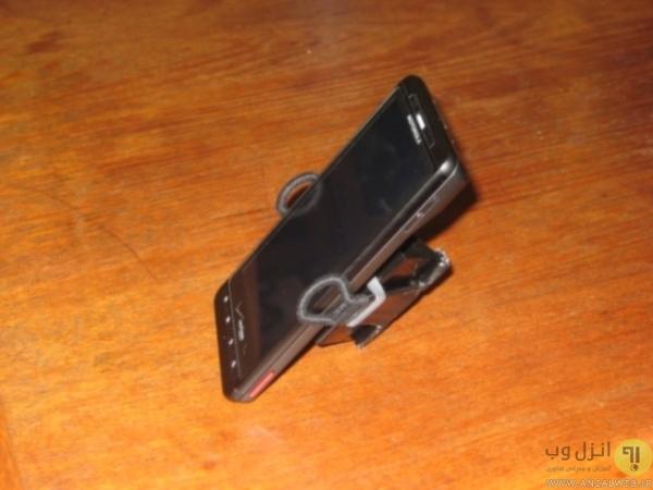 ساخت نگهدارنده موبایل برای ماشین