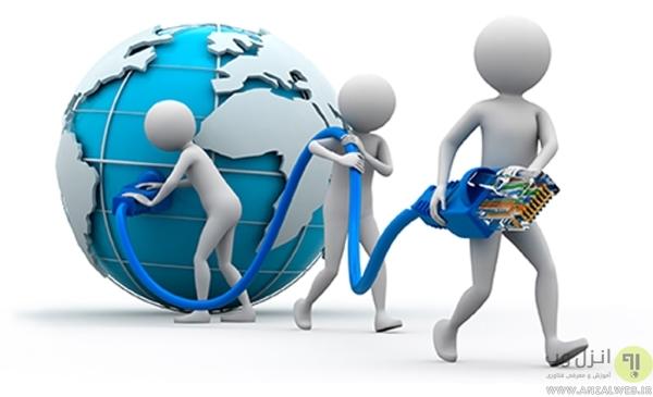 بررسی وضعیت اینترنت برای مشکل اتصال به واتس اپ