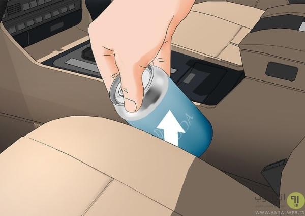 تمیز کردن داخل خودرو در شستن ماشین