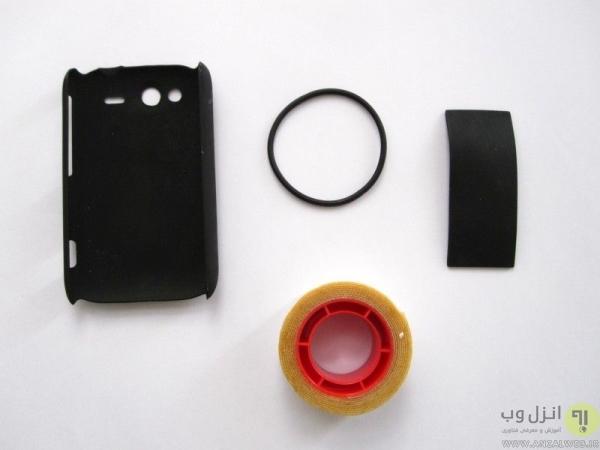 ساخت نگهدارنده گوشی برای دوچرخه