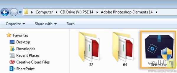 چک کردن CD و CD-ROM برای رفع <strong>مشکل</strong> عدم <strong>نصب</strong> <strong>فتوشاپ</strong>