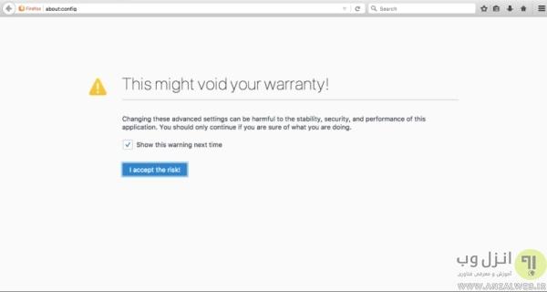 بررسی تنظیمات DNS داخلی فایرفاکس برای رفع خطای Server not Found