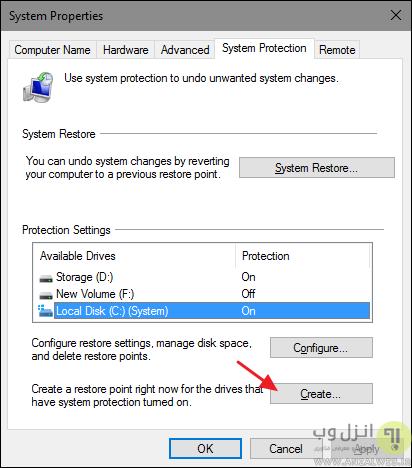 بازیابی اطلاعات در ویندوز 10
