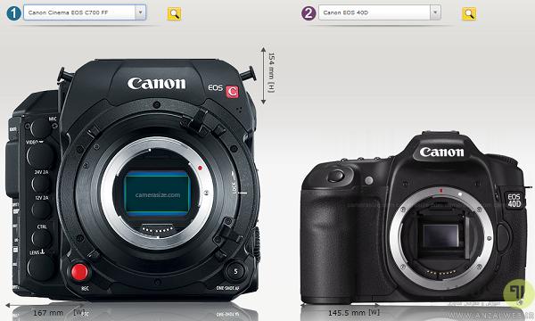 مقایسه دوربین های عکاسی کنون