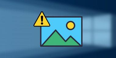 رفع مشکل نشان ندادن و باز نشدن عکس ها در ویندوز 10