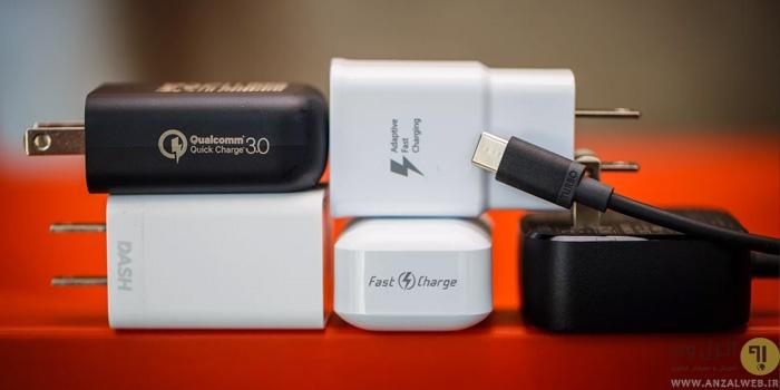 فست شارژ چیست؟ بررسی تکنولوژی فست شارژ گوشی سامسونگ ، آیفون و..