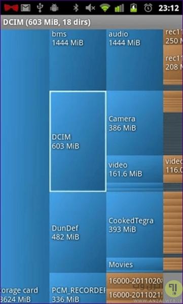 حذف فایل های اضافی گوشی برای افزایش حافظه